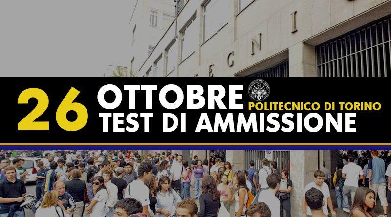 Test Ammissione 2017 Torino