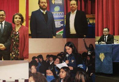 """Autoridades se reúnen en Conversatorio """"Los tres poderes del Estado"""""""