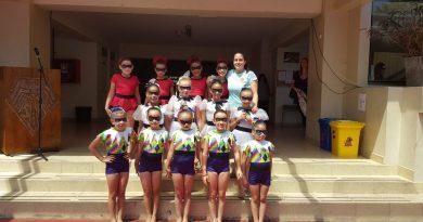 Presentación de Selección Gimnastica de la Sede de Viña del mar