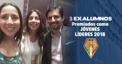 """Tres exalumnos de nuestra Scuola han sido elegidos entre los 17 """"Jóvenes Líderes 2018"""" de la Fundación Piensa y el Diario el Mercurio."""