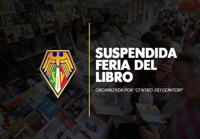 Se suspende Feria del Libro 2019