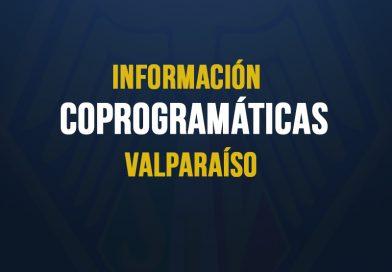Comunicado Coprogramáticas Valparaíso