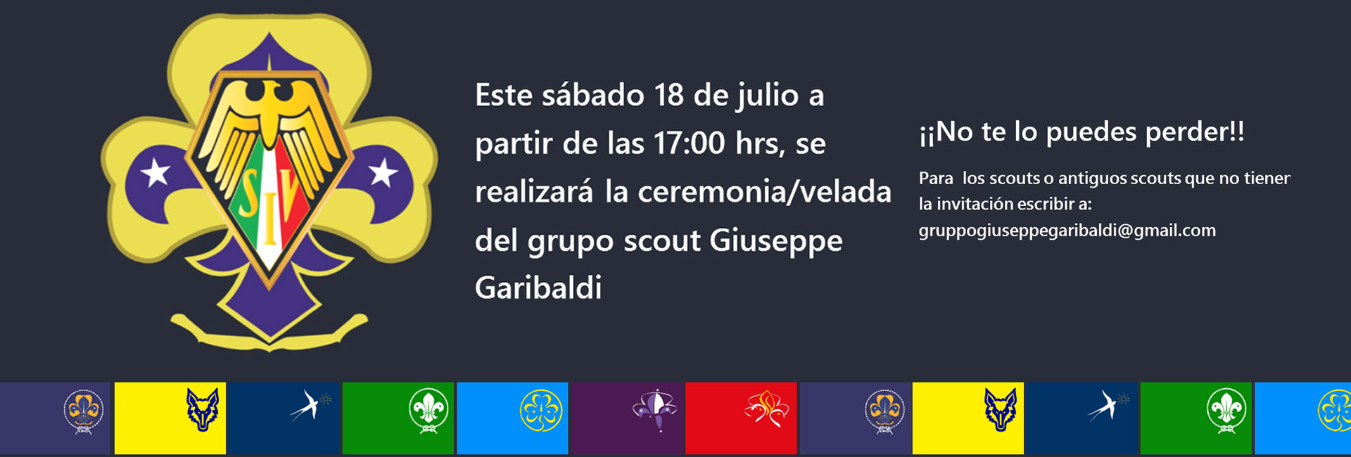 ceremonia scout