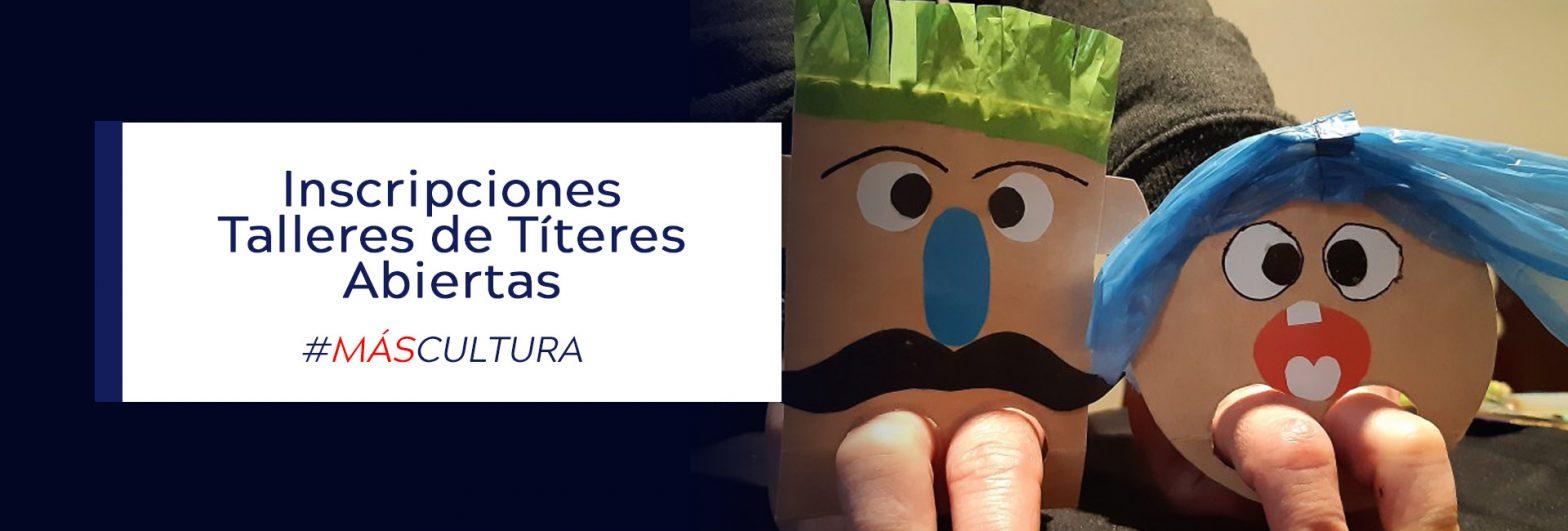 talleres online de títeres abren sus inscripciones en Centex